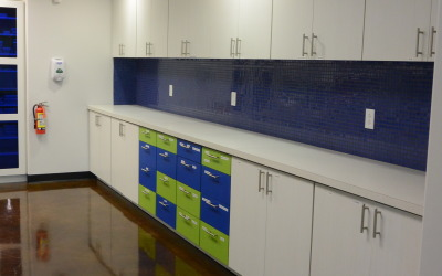World Pediatric Dental Sterilization Bay Blue