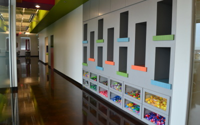 World Pediatric Dental Toy Wall