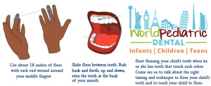 World-Pediatric-Dental-Tooth-Floss