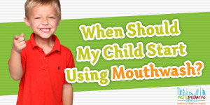 Children's Dentist Mouthwash